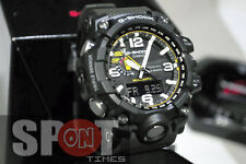Casio G-Shock MUDMASTER Tough Solar Triple Sensor Men's Watch GWG-1000-1A3