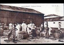 GOLD COAST (GHANA AFRIQUE) EMBALLAGE des NOIX de COLA trés animé / SCOA en 1924