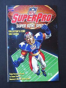 NFL SuperPro Super Bowl Special #1  NM 1991 High Grade Marvel Comic UNREAD