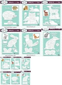 *NEW* 2018 Creative Expressions Paper Cuts 3D Animal Collection Craft Dies