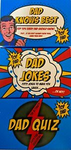 Professor Puzzle Cards Combo DAD JOKES / DAD KNOWS BEST / DAD QUIZ