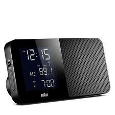 Braun Design BNC010 digital global funkgesteuerter Reisewecker, BKBK, 66021
