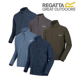 Regatta Mens Elgor II Fleece Half Zip Long Sleeved Top Jumper Pullover Sweater