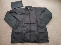 Light Weight Kagool Rain Jacket with Hood in Pouch showerproof