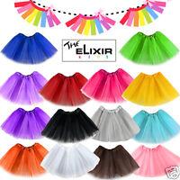Girls Kids Tutu Party Ballet Dance Wear Dress Skirt Pettiskirt Costume US SELLER