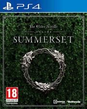 The Elder Scrolls Online Summerset | PlayStation 4 PS4 New Preorder