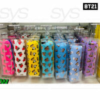 BTS BT21 Official Authentic Goods Pencil Case BITE Ver 200x45x50mm + Tracking#