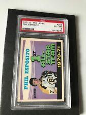 1971-72 O-PEE-CHEE #253 PHIL ESPOSITO 1ST ALL-STAR TEAM PSA 6 EX-MT
