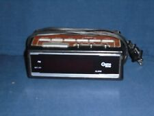 Used Cosmo Time Dual Digital Alarm Clock Model E-907A