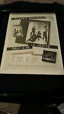 Classix Nouveaux Rare La Verite U.K. Tour Original Promo Poster Ad Framed!