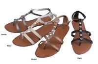 Womens Woman Fashion Roman Gladiator Sandals 5 6 7 8 9 10