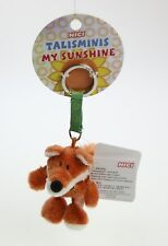 NICI Fox Brown Stuffed Animal Plush Beanbag Key Chain 3 inches
