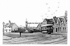 pt2610 - Tram in West Derby Village , Liverpool , Lancashire - photograph