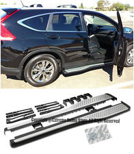 For 12-16 Honda CRV CR-V SUV Silver Aluminum Side Steps Nerf Bars Running Boards