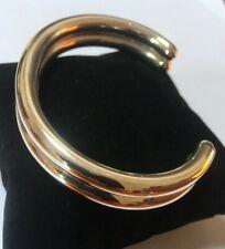 Vintage Silver Cuff Bangle Bracelet 925 Sterling Heavy 36 grams