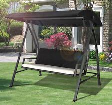 steel garden chairs swing seats
