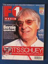 F1 Racing Magazine - November 2000 - Bernie Ecclestone Cover - Formula One
