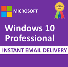✅Windows 10 Pro Professional License Product Key 32/64 bits [PERSONEL KEY] 🔥
