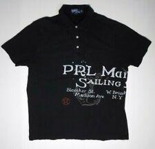 Polo Ralph Lauren Shirt XL Bleecker St. PRL Marine Co. Sailing Supplies Nautical