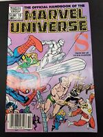 The Official Handbook of the Marvel Universe #10 S October 1982