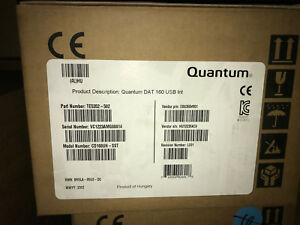 Quantum DAT160 Internal 80GB/160GB USBI Data Tape Drive TE5352-502 CD160UH-SST