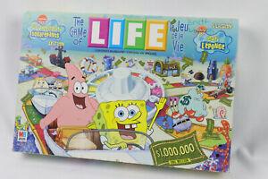 Game of Life SpongeBob SquarePants Edition by Milton Bradley 2005 96% Complete