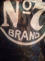 Jack Daniels Old No 7 Brand T-Shirt size  mens small s  UK  GENUINE  black/white