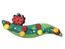 Kindergarderobe Käfer mit 4 Haken