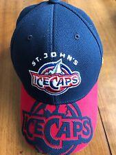 Baseball Reebok Fitted Small / Medium Hat Cap St John's Ice Caps  AHL HOCKEY