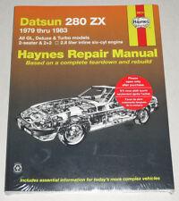 Reparaturanleitung Nissan / Datsun 280 ZX, Baujahre 1979 - 1983