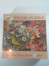 """Bits And Pieces Puzzle 3000 Pcs Birds and Butterflies 32.25""""x45.25"""""""