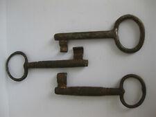 Cast Iron Keys - Skeleton Keys Old Locks