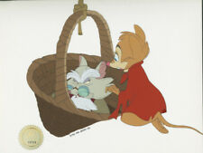 Secret of Nimh Don Bluth Mr Ages Mrs Brisby 1982 prod animation cel Lje Seal Coa