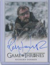 Rittenhouse Game of Thrones Season 8 Richard Dormer FULL BLEED AUTOGRAPH auto