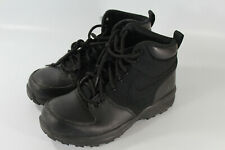 Nike ACG Manoa 613546-001 Black Outdoor Hiking Ankle Boots Boy's Youth US 6Y
