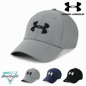 Under Armour Blitzing 3.0 Cap Curved Visor Hat Low Profile HeatGear Sweatband