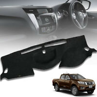 DASHMAT CARPET PAD DASH MAT DASHBOARD COVER FIT FOR NISSAN NAVARA NP300 2014-ON