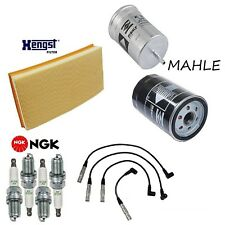 Tune Up Kit Air Oil Fuel Filters Spark Plugs for Volkswagen Golf 2.0L 1999-2001