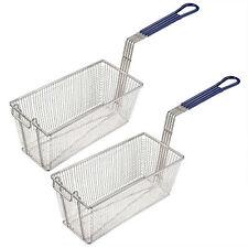 Heavy Duty Large Frying Basket 440x140x150mm for Commercial Deep Fat Fryers