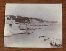 Photographie ancienne 1905 Marseille Corniche de Maldormé Roubion