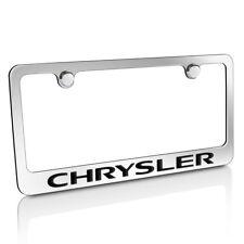 Chrysler Chrome Metal License Plate Frame