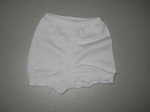 100% Cotton Diaper Covers Bloomer Shorts Infant Toddler Size 3 Months-2 Years