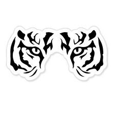 "White Tiger Eyes car bumper sticker decal 3"" x 5"""