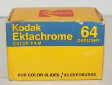 Kodak Ektachrome 64 Film (Dated 1985) (Boxed)