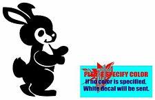 "MICKEY Bunny Rabbit Vinyl decal sticker Car Truck Window Laptop Die Cut Wall 7"""