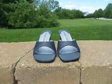 "New With Box- Chinese Laundry sandal heels ""JoyFull"" - gunmetal size 6.5 M"