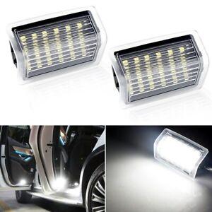 2Pcs LED Car Courtesy Door Light For Mercedes Benz GLS Class W204 W176 W212 W213