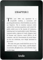 "Amazon Kindle Voyage (7th Generation) E-Reader/Tablet, 6"" | Black | 4GB | Wi-Fi"