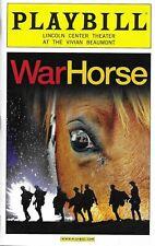 WAR HORSE-ENTIRE ORIGINAL CAST-2012 LINCOLN CENTER PLAYBILL