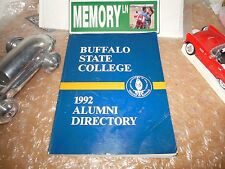 ORIGINAL BUFFALO STATE COLLEGE 1992 ALUMNI DIRECTORY/NEW YORK